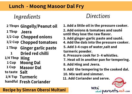 moong masoor dal fry cookhealthymealseveryday